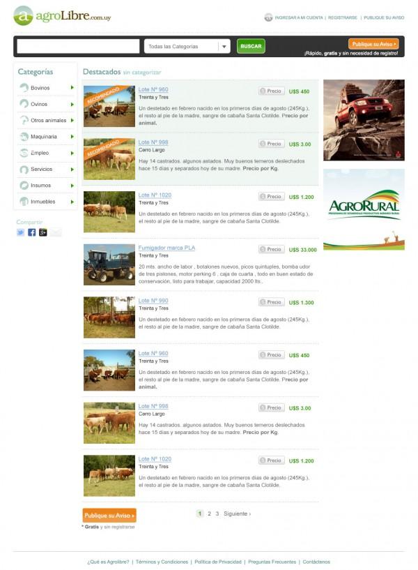 Clasificados Agropecuarios Online