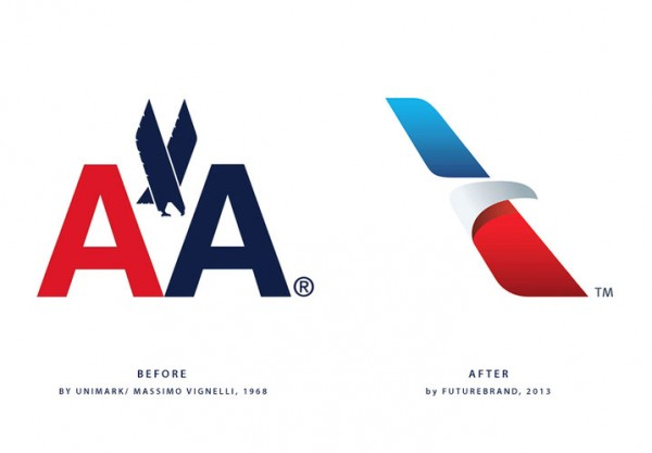 logo viejo American Airlines