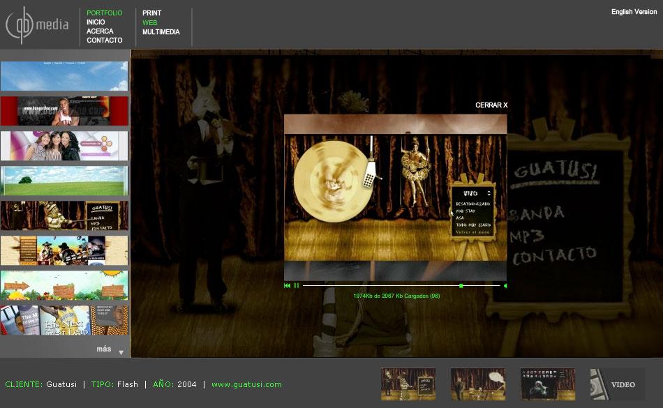 nuevo sitio qbmedia
