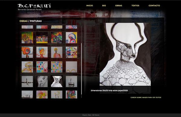 Sitio Web para Artista Plástico