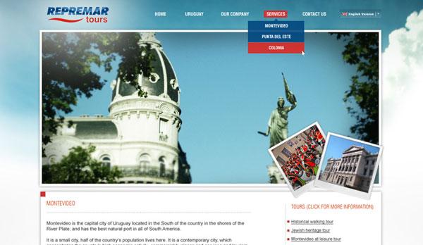 Diseño Web Grupo de Logística y Turismo