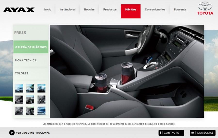 (Español) dieseño galería Prius