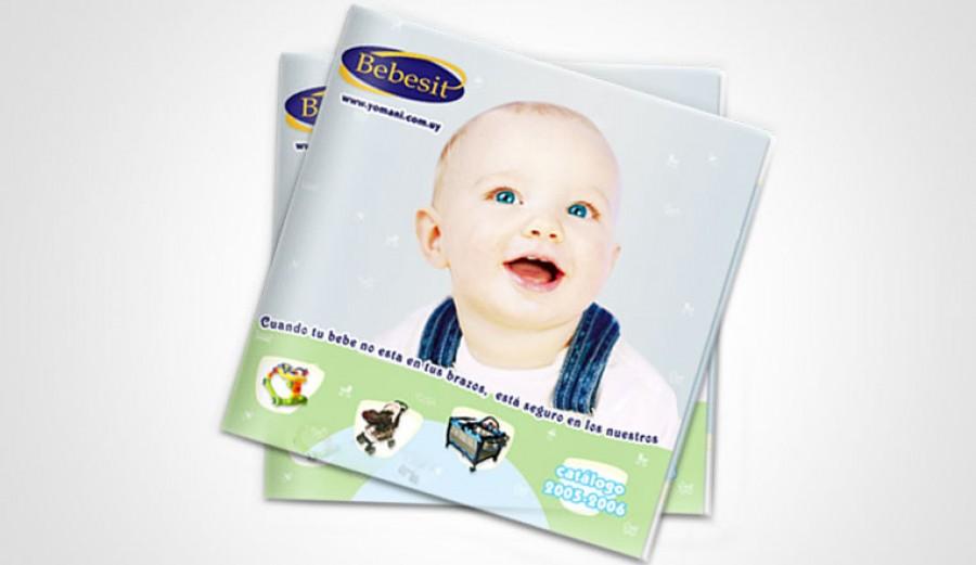 Diseño de catálogo para niños y bebes