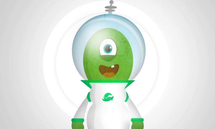Alien Bob!