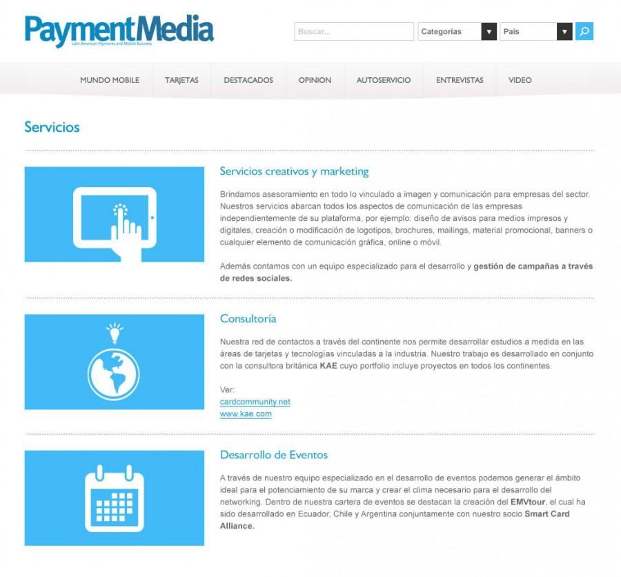 pagina de servicios
