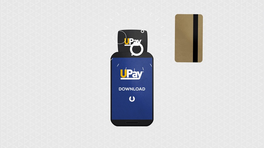 credit card payment animation