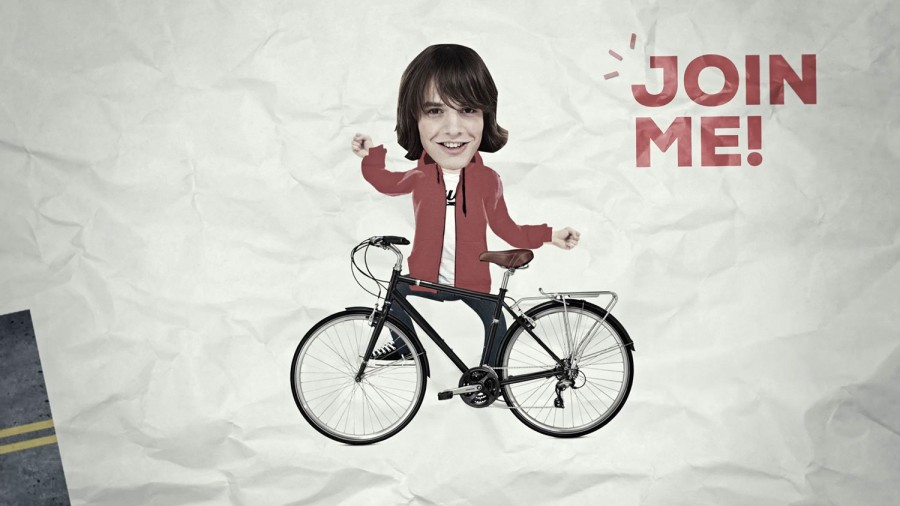 animación bicicleta