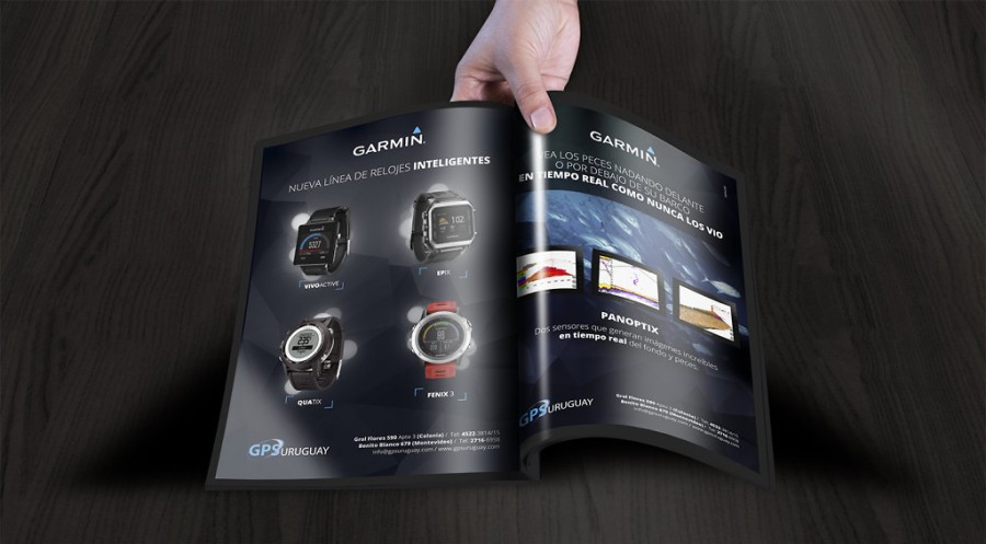 Magazine ads design