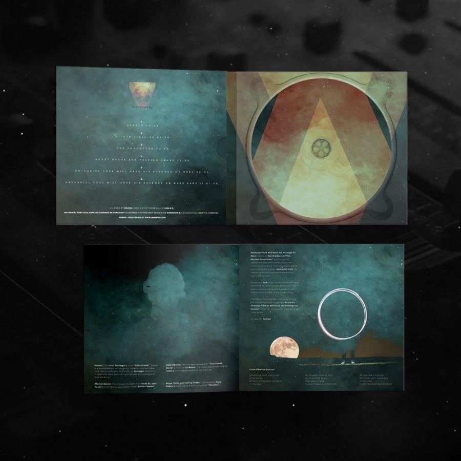 idm album cover and booklet design