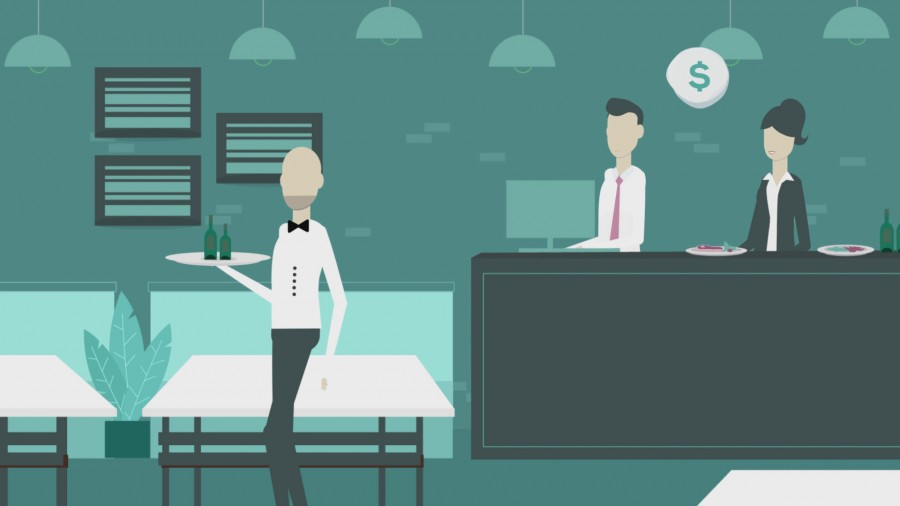 explainer video for app on restaurants