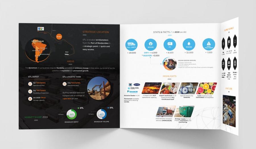 (Español) brochure interior design