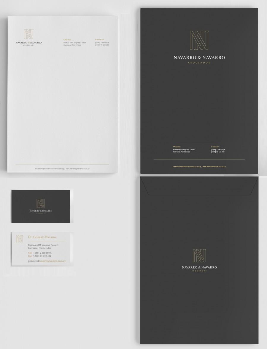 diseño de papeleria abogados