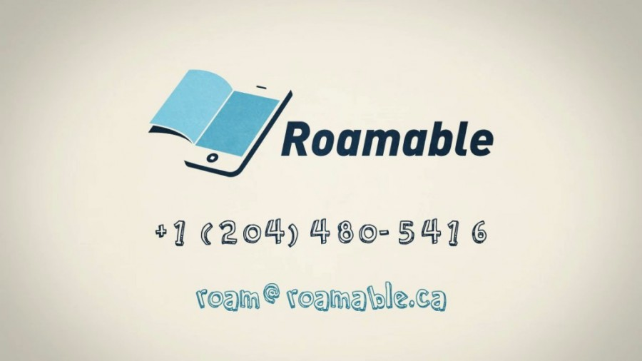 Roamable contact details