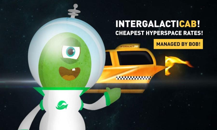 taxi intergalactico