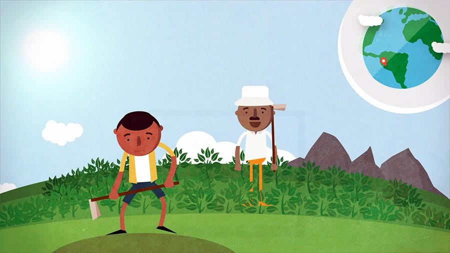 video animado agricultura