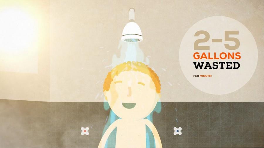 bath animation