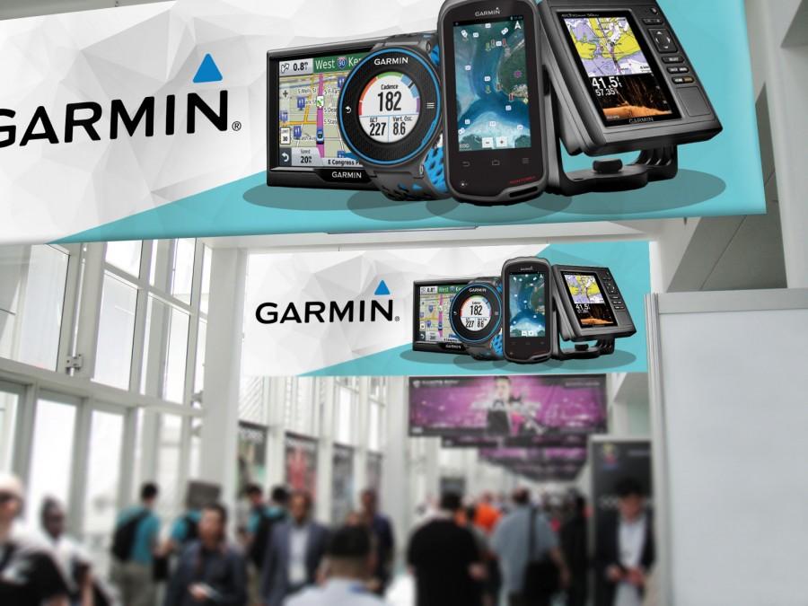 poster designs for Garmin
