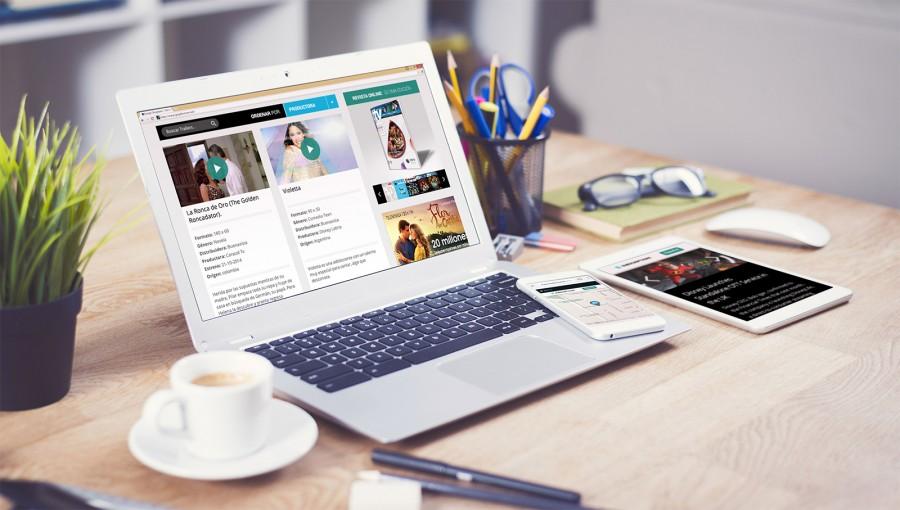 diseño web que se adapta a dispositivos