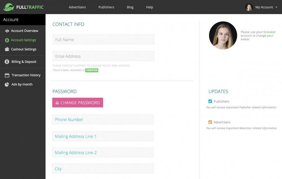 diseño profile