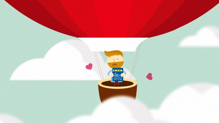 hot air balloon animation
