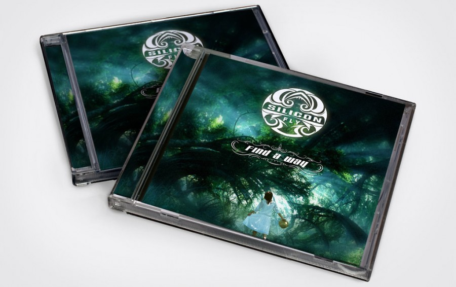 diseño tapa disco cd