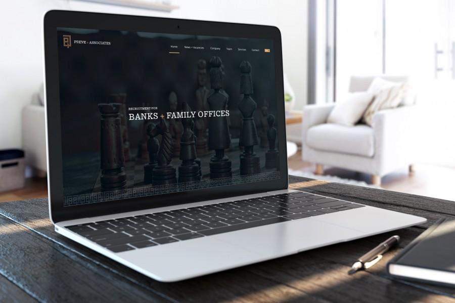 diseño web para servicios financieros