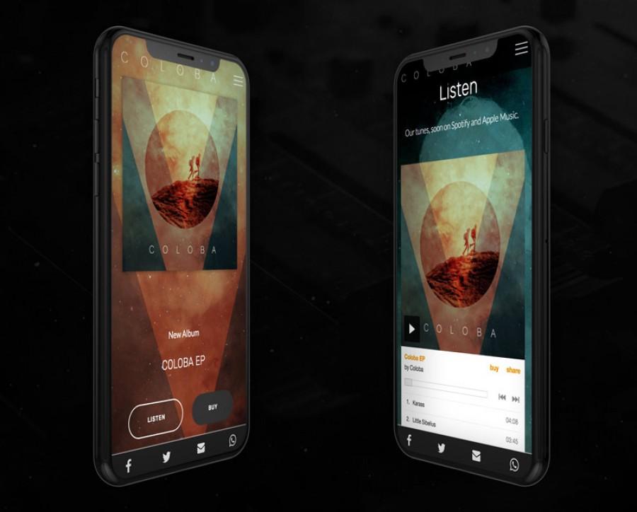 el diseño en telefonos y plataformas de streaming
