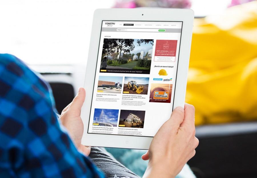 noticias online en tablet