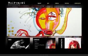 bcardarelli artista diseño web
