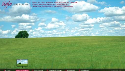 pagina web de siglo