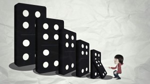 animated dominoes