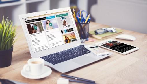 portal de noticias web
