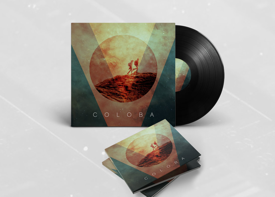 Electronic Music Cover Design