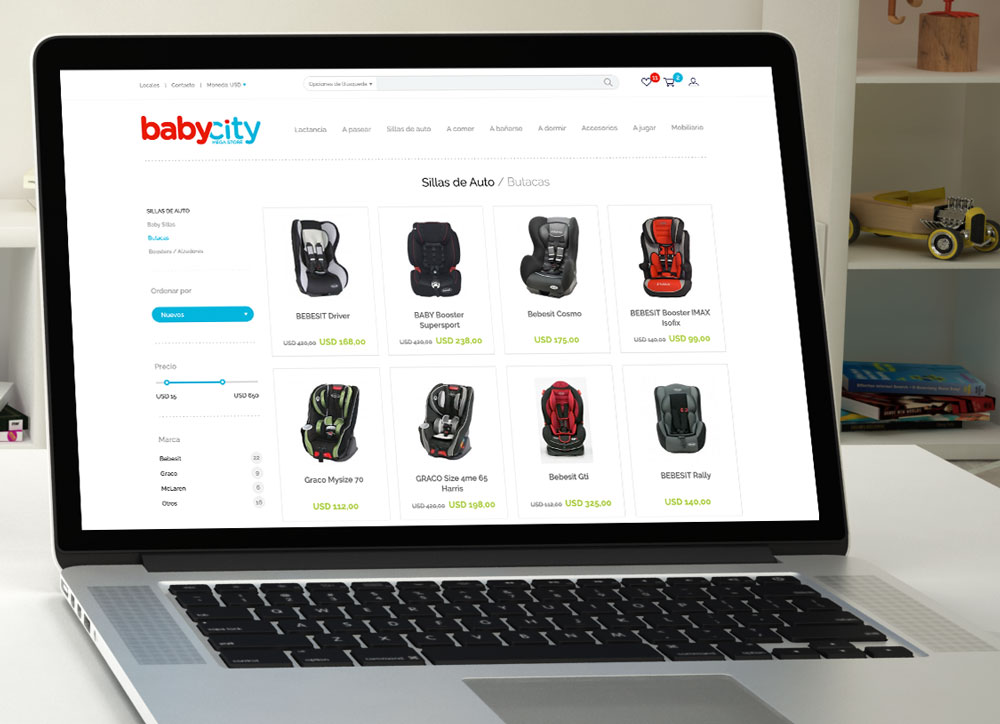 Babycity E-Commerce