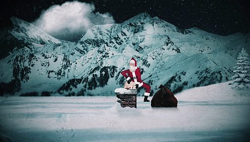 animación navideña para canal de TV SYFY