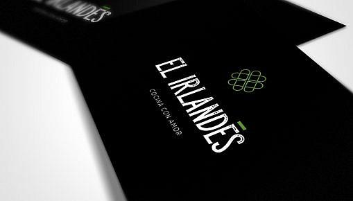 diseño de logo el irlandes